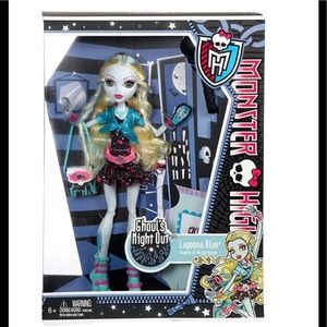 Monster High Ghoul's Night Out Lagoona Blue Doll